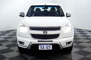 2015 Holden Colorado RG MY15 LTZ Crew Cab White 6 Speed Sports Automatic Utility.