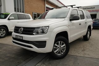 2018 Volkswagen Amarok 2H MY18 TDI420 4MOTION Perm Core Plus White 8 Speed Automatic Utility.