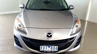 2010 Mazda 3 BL10F1 Neo Activematic Silver, Chrome 5 Speed Sports Automatic Hatchback