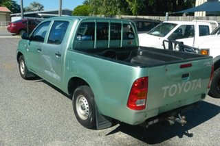 2005 Toyota Hilux RZN149R MY04 4x2 Green 5 Speed Manual Utility.