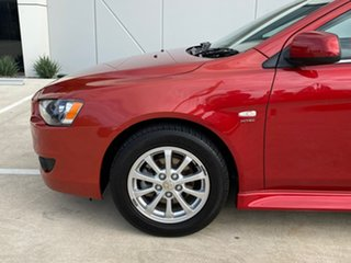 2011 Mitsubishi Lancer CJ MY11 VR Sportback Red 6 Speed Constant Variable Hatchback