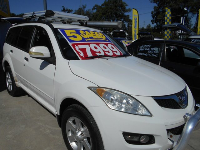 Used Great Wall X240 CC6460KY Springwood, 2011 Great Wall X240 CC6460KY White 5 Speed Manual Wagon