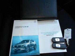 2017 Mazda CX-5 KF2W7A Maxx SKYACTIV-Drive FWD White 6 Speed Sports Automatic Wagon