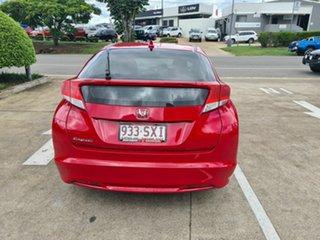 2012 Honda Civic 9th Gen VTi-S Red 5 Speed Sports Automatic Hatchback