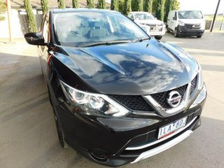 2017 Nissan Qashqai J11 ST Black 1 Speed Constant Variable Wagon.