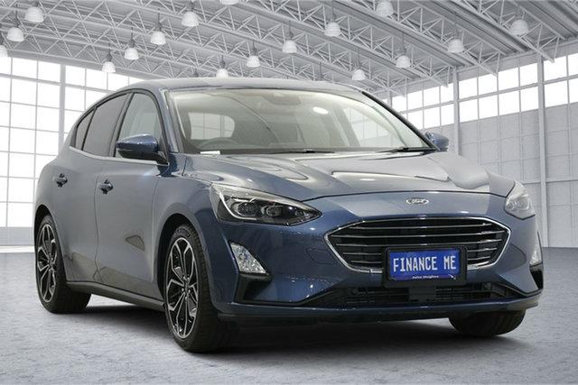 Used Ford Focus SA 2020.25MY Titanium Victoria Park, 2020 Ford Focus SA 2020.25MY Titanium Blue 8 Speed Automatic Hatchback