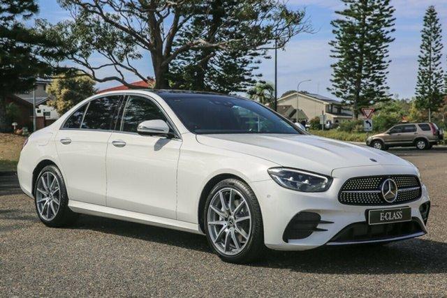 Demo Mercedes-Benz E-Class W213 800+050MY E200 9G-Tronic PLUS Port Macquarie, 2020 Mercedes-Benz E-Class W213 800+050MY E200 9G-Tronic PLUS Polar White 9 Speed Sports Automatic