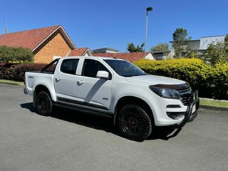 2017 Holden Colorado RG LS White 6 Speed Automatic Dual Cab.