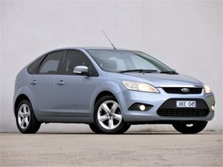 2009 Ford Focus LV LX Blue 4 Speed Sports Automatic Hatchback.