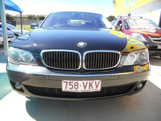 2006 BMW 7 Series E66 740Li Steptronic Black 6 Speed Sports Automatic Sedan.