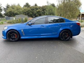 2014 Holden Commodore VF MY14 SV6 Storm Perfect Blue 6 Speed Sports Automatic Sedan