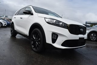 2020 Kia Sorento UM MY20 Black Edition AWD White 8 Speed Sports Automatic Wagon