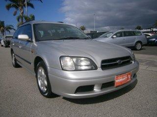 2000 Subaru Liberty B3 MY00 GX AWD Silver 4 Speed Automatic Wagon.