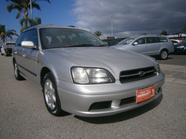 Used Subaru Liberty B3 MY00 GX AWD Cheltenham, 2000 Subaru Liberty B3 MY00 GX AWD Silver 4 Speed Automatic Wagon