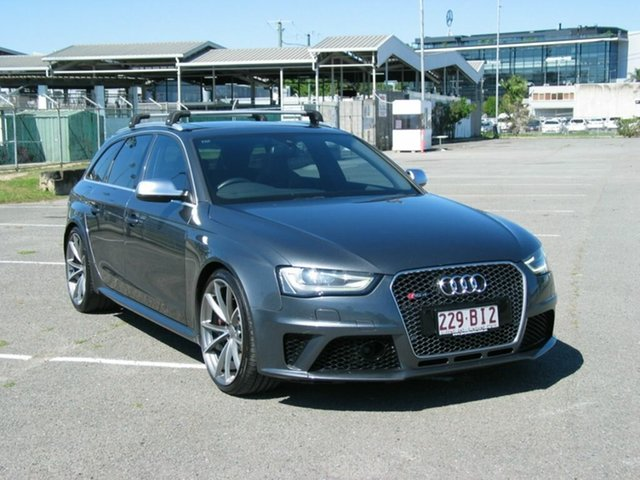 Used Audi RS 4 8K MY14 Avant Quattro Albion, 2014 Audi RS 4 8K MY14 Avant Quattro Grey 7 Speed Auto Direct Shift Wagon