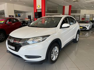2015 Honda HR-V MY15 VTi White 1 Speed Constant Variable Hatchback
