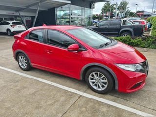 2012 Honda Civic 9th Gen VTi-S Red 5 Speed Sports Automatic Hatchback.