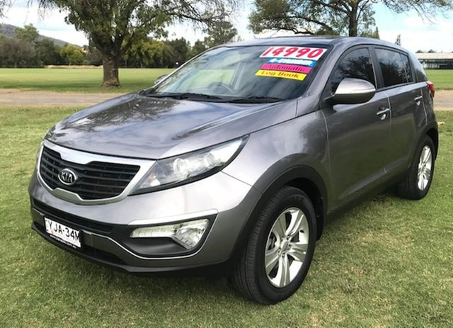 Used Kia Sportage SL MY12 SI Tamworth, 2011 Kia Sportage SL MY12 SI Grey 6 Speed Sports Automatic Wagon