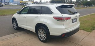 2014 Toyota Kluger GSU50R Grande 2WD White 6 Speed Sports Automatic Wagon