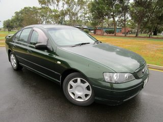 2003 Ford Falcon BA XT Green 4 Speed Auto Seq Sportshift Sedan.