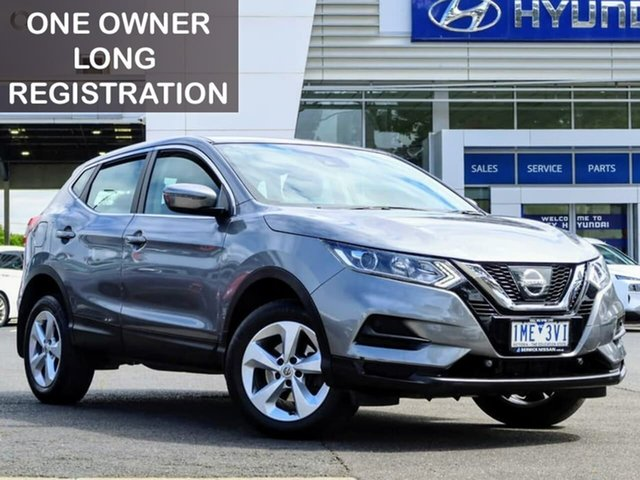 Used Nissan Qashqai J11 Series 2 ST X-tronic South Melbourne, 2018 Nissan Qashqai J11 Series 2 ST X-tronic Grey 1 Speed Constant Variable Wagon