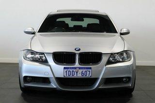 2006 BMW 3 Series E90 325i Steptronic Silver 6 Speed Sports Automatic Sedan.