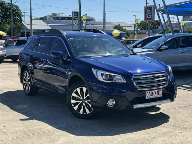 Used Subaru Outback B6A MY15 2.5i CVT AWD Premium Chermside, 2015 Subaru Outback B6A MY15 2.5i CVT AWD Premium Blue 6 Speed Constant Variable Wagon