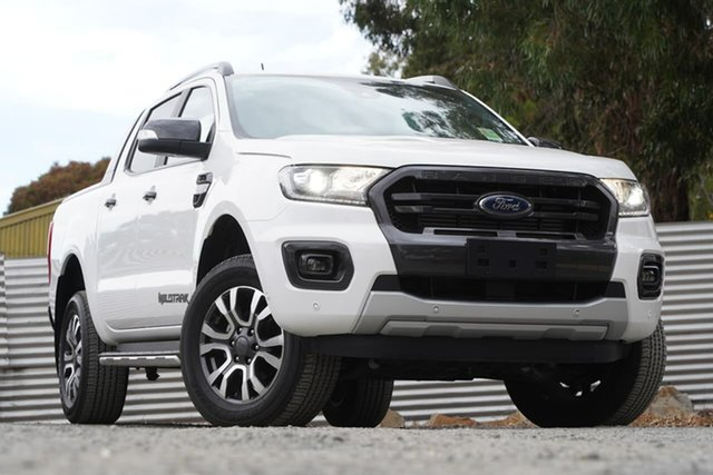Used Ford Ranger PX MkIII 2019.75MY Wildtrak Clare, 2019 Ford Ranger PX MkIII 2019.75MY Wildtrak White 10 Speed Sports Automatic Double Cab Pick Up