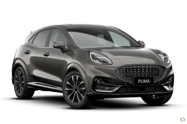 New Ford Puma JK 2021.25MY ST-Line V Ferntree Gully, 2020 Ford Puma JK 2021.25MY ST-Line V Grey 7 Speed Sports Automatic Dual Clutch Wagon