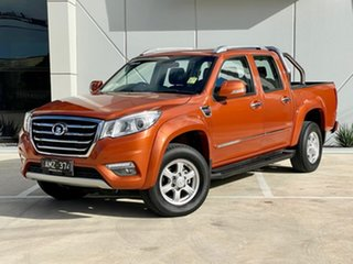 2018 Great Wall Steed NBP Orange 6 Speed Manual Utility.