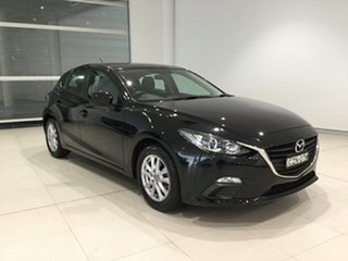 2015 Mazda 3 BM5476 Neo SKYACTIV-MT Jet Black 6 Speed Manual Hatchback.