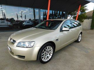 2008 Holden Commodore VE MY09 60th Anniversary Sportwagon Gold 4 Speed Automatic Wagon.
