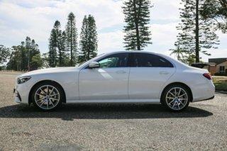 2020 Mercedes-Benz E-Class W213 800+050MY E200 9G-Tronic PLUS Polar White 9 Speed Sports Automatic