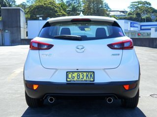 2015 Mazda CX-3 DK2WSA Maxx SKYACTIV-Drive White 6 Speed Sports Automatic Wagon