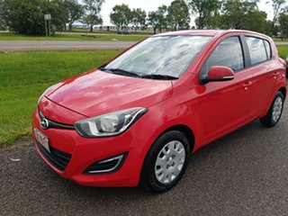 2012 Hyundai i20 PB MY13 Active Red 4 Speed Automatic Hatchback.