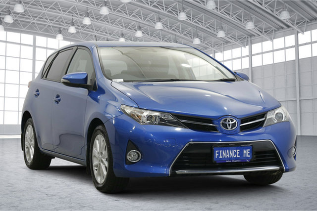 Used Toyota Corolla ZRE182R Ascent Sport S-CVT Victoria Park, 2015 Toyota Corolla ZRE182R Ascent Sport S-CVT Blue 7 Speed Constant Variable Hatchback