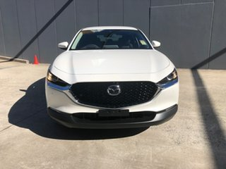 2021 Mazda CX-30 DM2W7A G20 SKYACTIV-Drive Touring Snowflake White 6 Speed Sports Automatic Wagon.