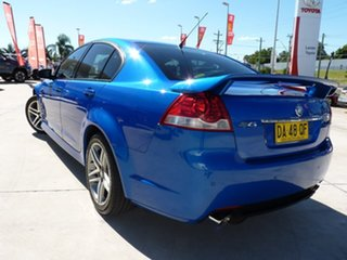 2010 Holden Commodore VE II SV6 Blue 6 Speed Sports Automatic Sedan.
