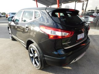 2017 Nissan Qashqai J11 ST Black 1 Speed Constant Variable Wagon