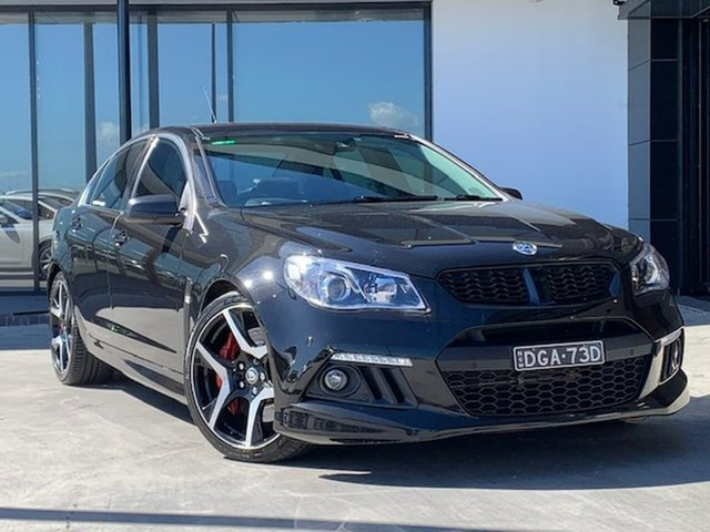 Used Holden Special Vehicles ClubSport Gen-F MY14 R8 Liverpool, 2014 Holden Special Vehicles ClubSport Gen-F MY14 R8 Black 6 Speed Sports Automatic Sedan
