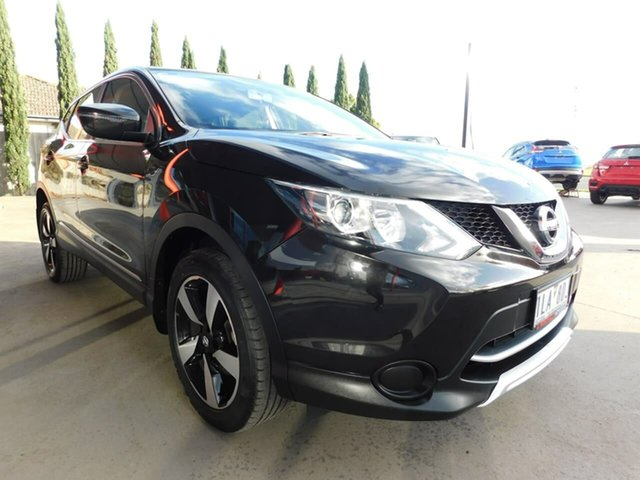Pre-Owned Nissan Qashqai J11 ST Wonthaggi, 2017 Nissan Qashqai J11 ST Black 1 Speed Constant Variable Wagon