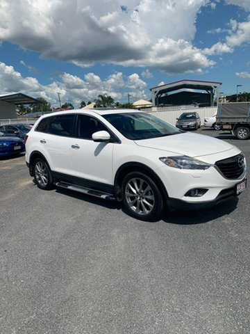 Used Mazda CX-9 TB10A5 Grand Touring Activematic AWD North Rockhampton, 2014 Mazda CX-9 TB10A5 Grand Touring Activematic AWD Crystal White Pearl 6 Speed Sports Automatic