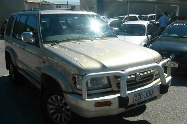 Used Holden Jackaroo U8 MY02 Nullabor Gladstone, 2002 Holden Jackaroo U8 MY02 Nullabor Silver 4 Speed Automatic Wagon