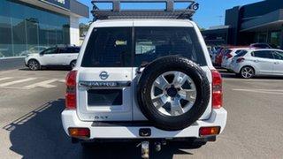 2011 Nissan Patrol GU 7 MY10 ST White 5 Speed Manual Wagon