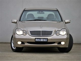 2001 Mercedes-Benz C-Class W203 C240 Elegance Gold Sports Automatic Sedan.