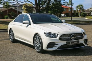 2020 Mercedes-Benz E-Class W213 800+050MY E200 9G-Tronic PLUS Polar White 9 Speed Sports Automatic.