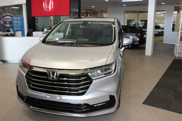 New Honda Odyssey RC 21YM Vi LX7 Cardiff, 2021 Honda Odyssey RC 21YM Vi LX7 Platinum White 7 Speed Constant Variable Wagon