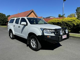 2015 Isuzu D-MAX SX White 5 Speed Automatic Dual Cab.