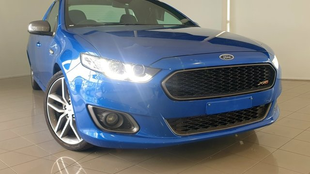 Used Ford Falcon FG X XR6 Ute Super Cab Turbo Deer Park, 2015 Ford Falcon FG X XR6 Ute Super Cab Turbo Blue 6 Speed Sports Automatic Utility