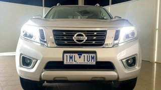 2017 Nissan Navara D23 S2 ST-X Silver, Chrome 7 Speed Sports Automatic Utility.